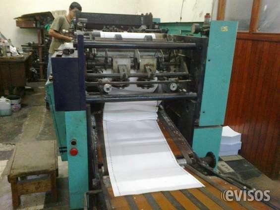 Maquina rotativa megsa mp-120 de 02 colores