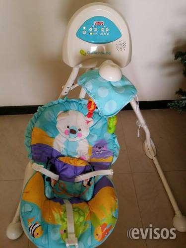 Vendo mecedora bebe marca fisher price nuevo