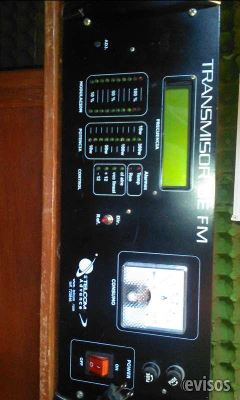 Vendo transmisor de fm de 300 watts de potencia