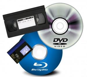 Videos de filmadoras traspasamos a dvd