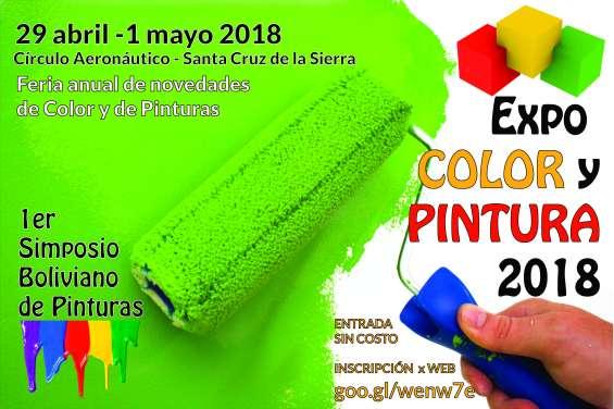 Feria expo color y pintura santa cruz de la sierra