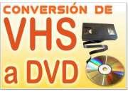 TRASPASAMOS TUS RECUERDOS DE CASETT VHS A DVD DIGITAL