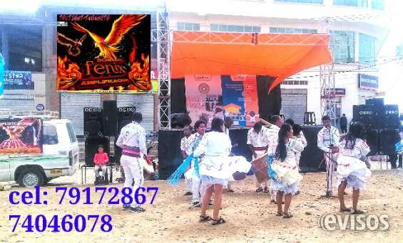 Servicio de amplificación la paz - el alto 79172867