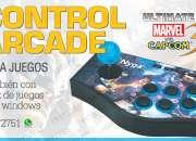 Vendo control arcade parajuegosretro