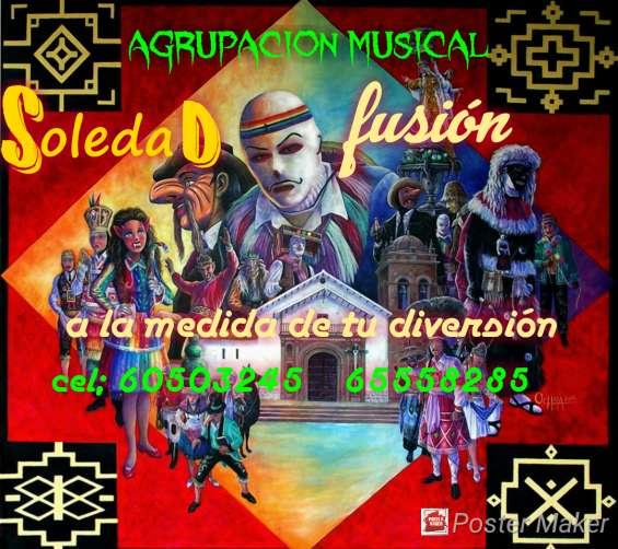 Grupo musical y amplificacion