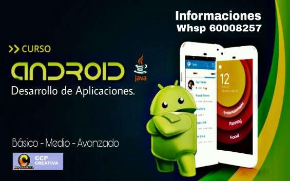 Curso de programación de aplicaciones en androis 2019