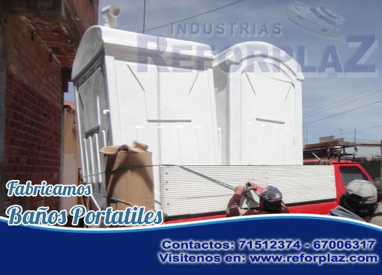Fabricación de baños portátiles- bolivia