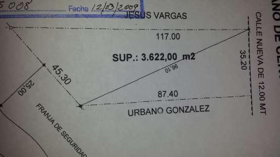 Terreno en vinto de 3622 metros en venta
