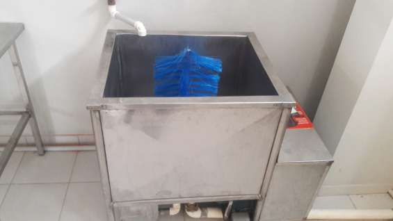 Lavadora manual botellones de 20 litros
