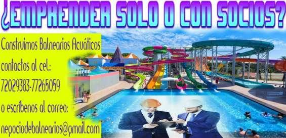 Buscamos socios para balnearios bolivia
