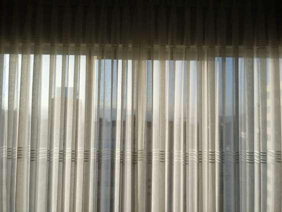 Elegantes cortinas gruesas