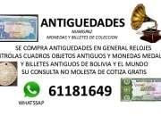 Se compra monedas medallas y billetes antiguos de bolivia