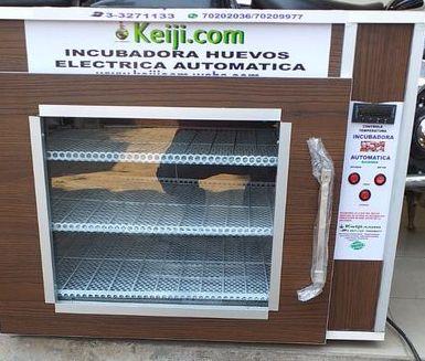 Ncubadora kc300  capacidad de 300 huevos  sin contrhumedad  y  volteo  de  arraste