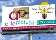 Gigantografia y publicidad