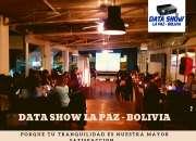 Data show ecran la paz 73074742