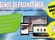 Diseño de paginas web  en bolivia