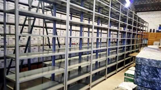 Estanteria metálica tipo mecano para almacenaje