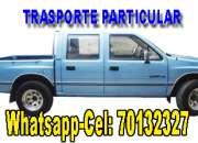 TRANSPORTE PARTICULAR (camioneta doble cabina)